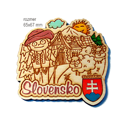 Magnetka gravírovaná Slovensko A