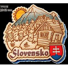 Magnetka gravírovaná Slovensko 4a