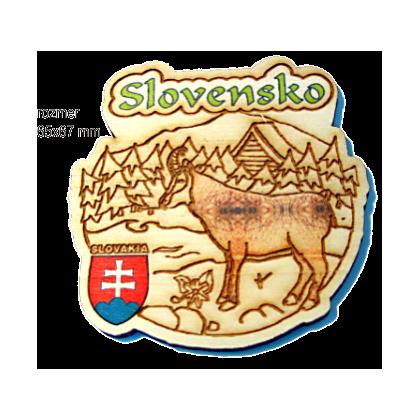 Magnetka gravírovaná Slovensko 6a