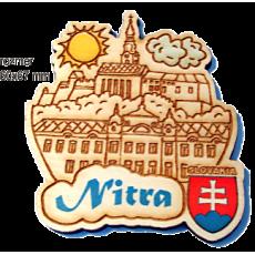 Magnetka gravírovaná Nitra 1a