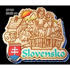 Magnetka gravírovaná Slovensko 1a