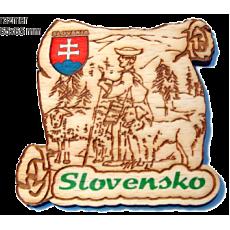 Magnetka gravírovaná Slovensko 5a