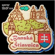 Magnetka gravírovaná Banská Štiavnica 1a