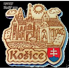 Magnetka gravírovaná Košice 1