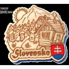 Magnetka gravírovaná Slovensko 4