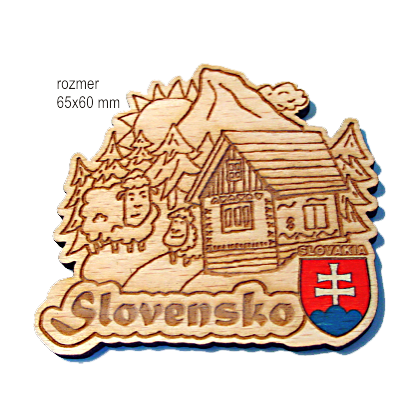 Magnetka gravírovaná Slovensko 2