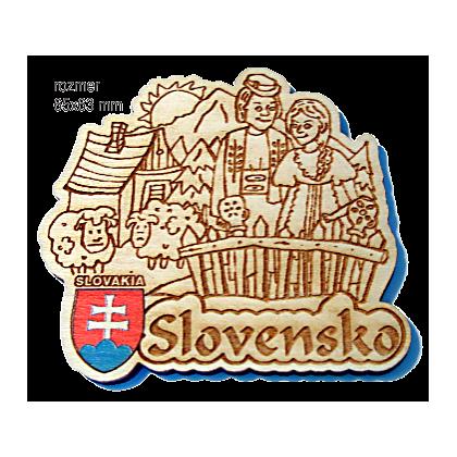 Magnetka gravírovaná Slovensko 1