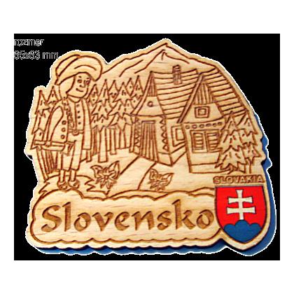 Magnetka gravírovaná Slovensko 3