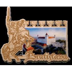 Magnetka hrad Bratislava Hrad 2