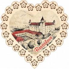 Magnetka srdiečko Bratislava 02