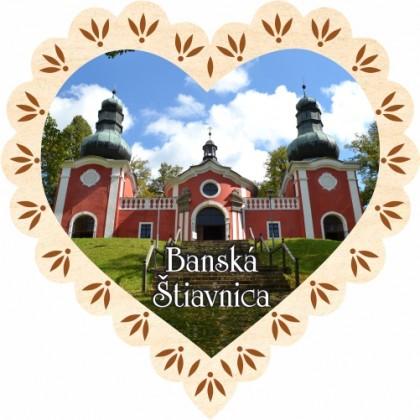 Magnetka srdiečko Banská Štiavnica 01