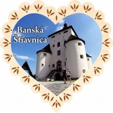 Magnetka srdiečko Banská Štiavnica 02