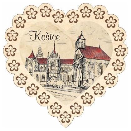 Magnetka srdiečko Košice 04