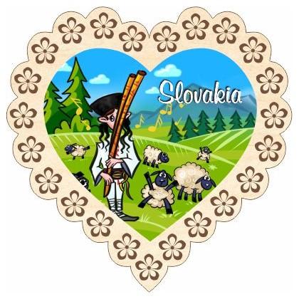 Magnetka srdiečko Slovakia 01