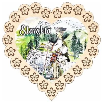 Magnetka srdiečko Slovakia 02