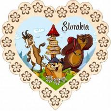 Magnetka srdiečko Slovakia 03