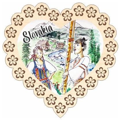 Magnetka srdiečko Slovakia 04