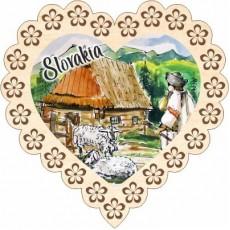 Magnetka srdiečko Slovakia 05