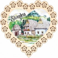 Magnetka srdiečko Slovakia 06