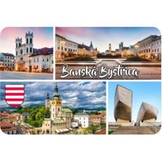 Magnetka drevená Banská Bystrica 01