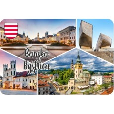 Magnetka drevená Banská Bystrica 02