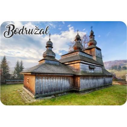 Magnetka drevená Bodružal 02