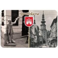 Magnetka drevená Bratislava 9