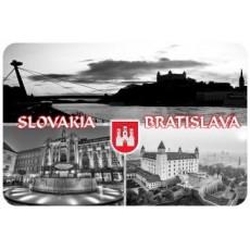 Magnetka drevená Bratislava 10