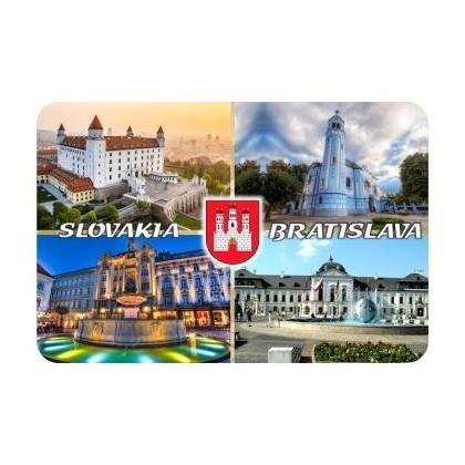 Magnetka drevená Bratislava 11