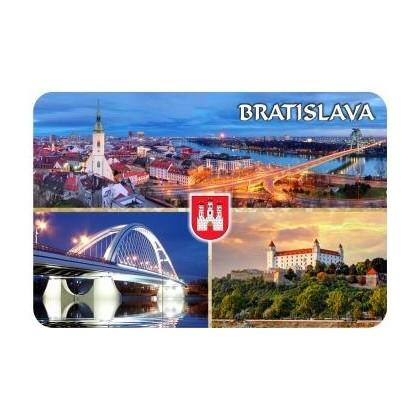 Magnetka drevená Bratislava 12