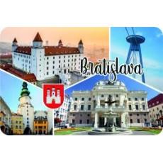 Magnetka drevená Bratislava 17