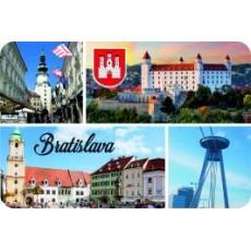 Magnetka drevená Bratislava 18