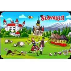 Magnetka drevená Slovakia 3