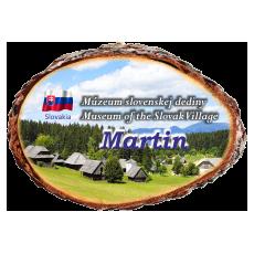 Magnetka kôra Múzeum slovenskej dediny Martin