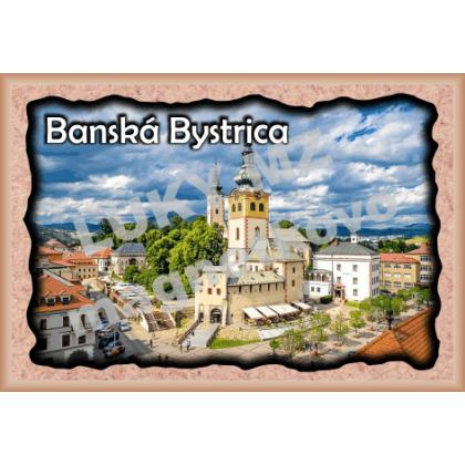 Magnetka rámik Banská Bystrica 1