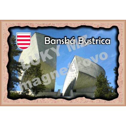 Magnetka rámik  Banská Bystrica 2
