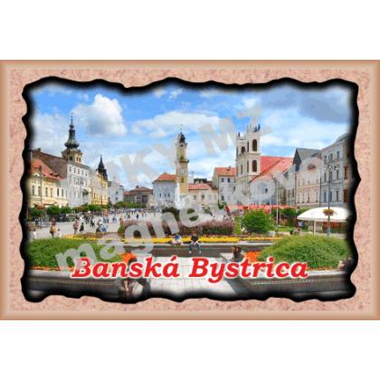Magnetka rámik  Banská Bystrica 3