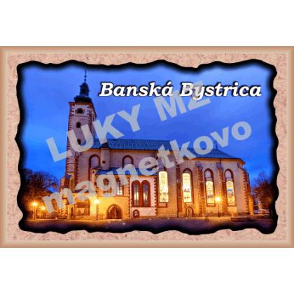 Magnetka rámik  Banská Bystrica 4
