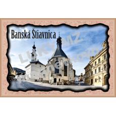 Magnetka rámik Banská Štiavnica 1