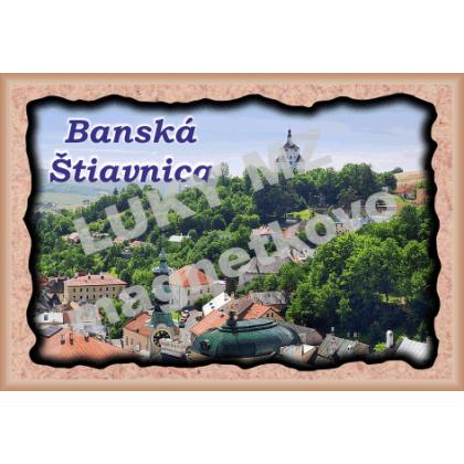 Magnetka rámik Banská Štiavnica 2