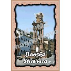 Magnetka rámik Banská Štiavnica 3