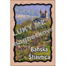 Magnetka rámik Banská Štiavnica 4