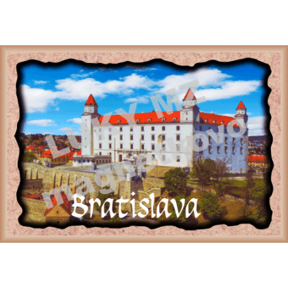 Magnetka rámik Bratislavský hrad 1