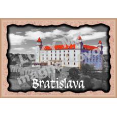 Magnetka rámik Bratislavský hrad 1a