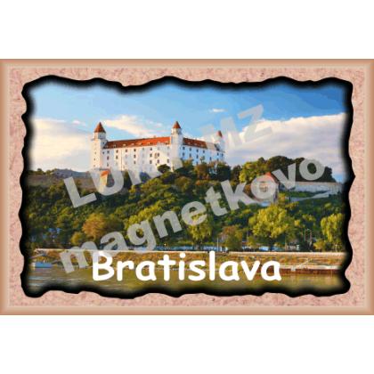 Magnetka rámik Bratislava Hrad 2