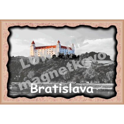 Magnetka rámik Bratislava Hrad 2a