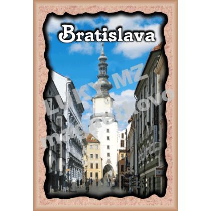 Magnetka rámik Bratislava Michalská brána 3