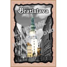 Magnetka rámik Bratislava Michalská brána 3a