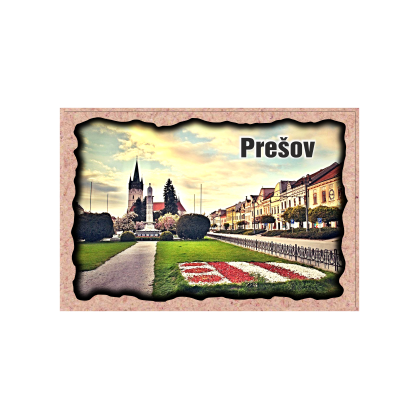 Magnetka rámik Prešov 02