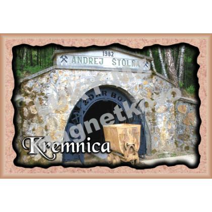 Magnetka rámik Kremnica 3